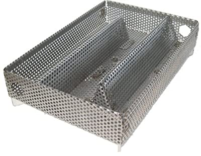 A-MAZE-N AMNPS Maze Pellet Smoker, Hot or Cold Smoking, 5 x 8 Inch