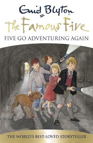 Reading mile authors enid blyton famous five novels 02 five go adventuring again fandeluxe Choice Image