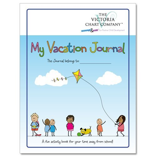 My Vacation Journal (4yrs+) - Lightweight Children's Travel Journal Diary to Document Memories.  Encourages Writing, Drawing, Collecting and Sticking While on Vacation (11 x 8.5 inches)