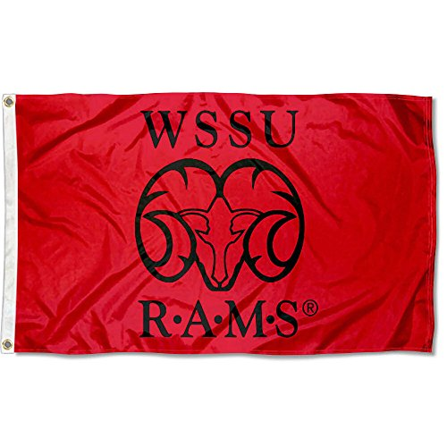 Winston Salem State Rams Flag by College Flags and Banners Co.