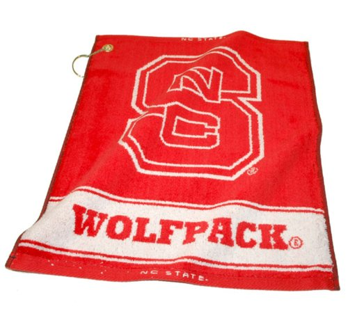 Team Golf NCAA NC State Wolfpack Jacquard Woven Golf Towel, 16