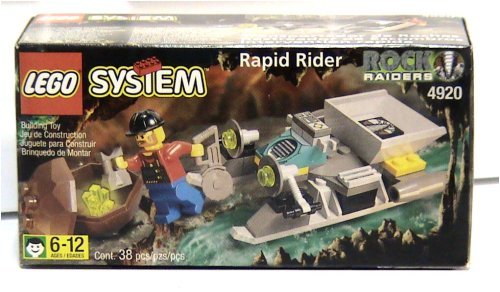 Rapid Rider Rock Raiders LEGO System Set 4920