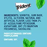 Trident Mint Bliss Sugar Free Gum - with Xylitol