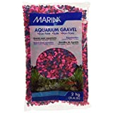 Marina 12492 Jelly Bean Decorative Epoxy Aquarium Gravel, 2kg, 4.4-Pound