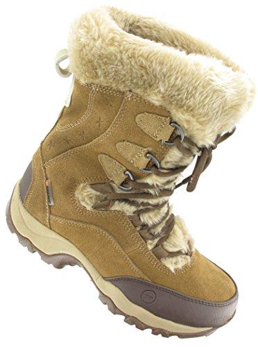 Damen 43 Cream St Ii Moritz Hi amp; Trekking Tec 200 Brown Waterproof Braun Wanderstiefel Aqw5xSOg
