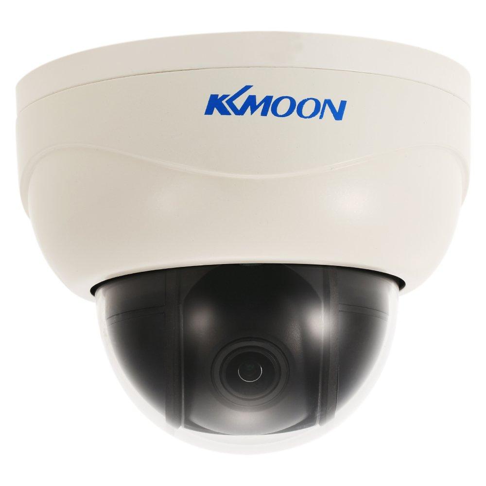 KKmoon ドームIPカメラ 3in 1080P HD PTZ 2.8~8mmオートフォーカスマニュアルフォーカスズームレンズ 2百万画素 1/3