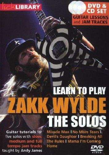 Zakk Wylde Solos - Lick Library: Learn To Play Zakk Wylde - The Solos [DVD]
