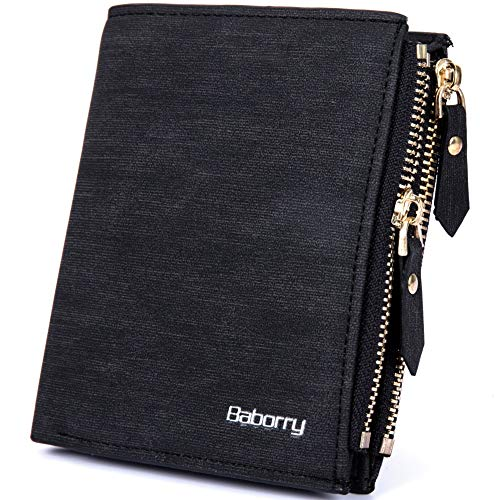 Pack Wallet For Wallet Rfid Uomo Black Card New anti radiofrequenza Men Short Identificazione dEqtqPT