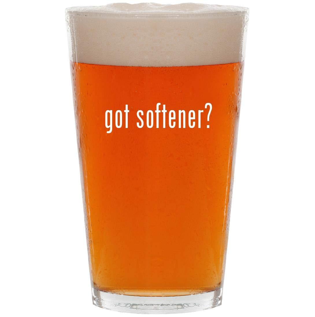 got softener? - 16oz Pint Beer Glass