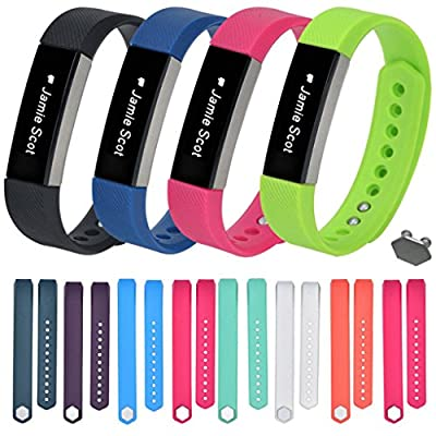 For Fitbit Alta,Haoricu Small Size Replacement Wristband Band Strap + Buckle
