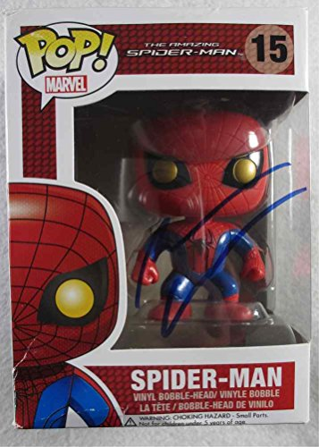 Andrew Garfield Spiderman Signed Funko Pop Doll Certified Authentic PSA/DNA COA