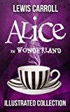Alice in Wonderland: The Complete Collection (Illustrated Alice's Adventures in Wonderland, Illustrated Through the Looking Glass, plus Alice's Adventures ... The Hunting of the Snark) (English Edition)