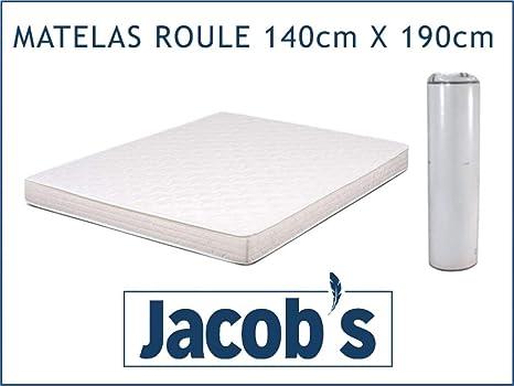 Flex - Colchón Enrollado (140 x 190 cm, 15 cm)