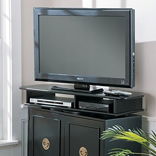 XL Wide TV Swivel Stand - 42'' Wide (Black)