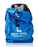 Jolly Tykes Car Seat Travel Bag for Gate Check (Blue)