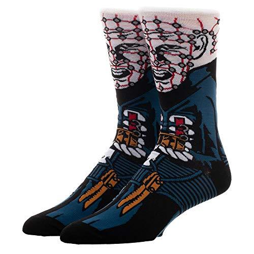 Hellraiser Pinhead 360 Men's Character Crew Socks -