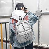 Women Letter Backpack Print Shoulder Bag Fashion