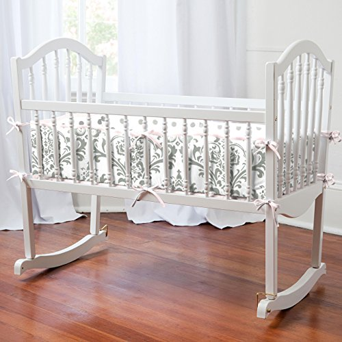 k and Gray Traditions Cradle Bumper ()
