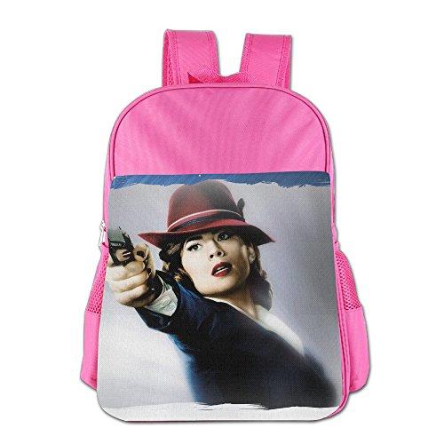 FUOALF Agent Carter Poster Kids Children Boys Girls Shoulder Bag School Backpack (Ratchet And Clank Costume)