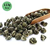Tealyra - Imperial Jasmine Dragon Pearls - Loose Leaf Green Tea -...