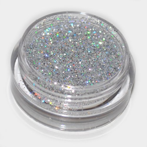 Silver Laser Eye Shadow Loose Glitter Dust Body Face Nail Art Party Shimmer Make-Up Kiara World