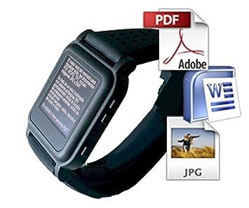 799800703bab Reloj Chuleta RXO con botón Emergencia PDF y Word sin Brillo  Amazon.es   Electrónica