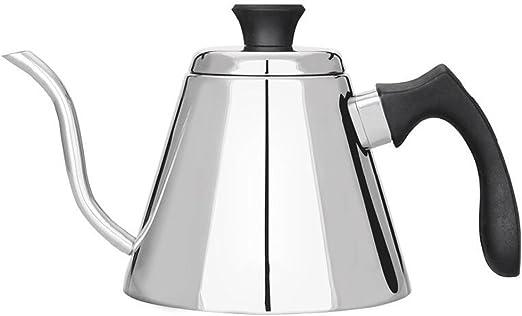 Cafetera de mano Caldera de café fino de acero inoxidable Olla de ...