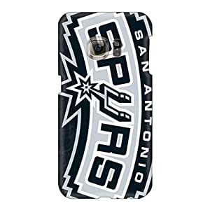 Samsung Galaxy S6 Cmg4206zhqx Custom High-definition San Antonio Spurs Skin Excellent Hard Phone Covers -TimeaJoyce