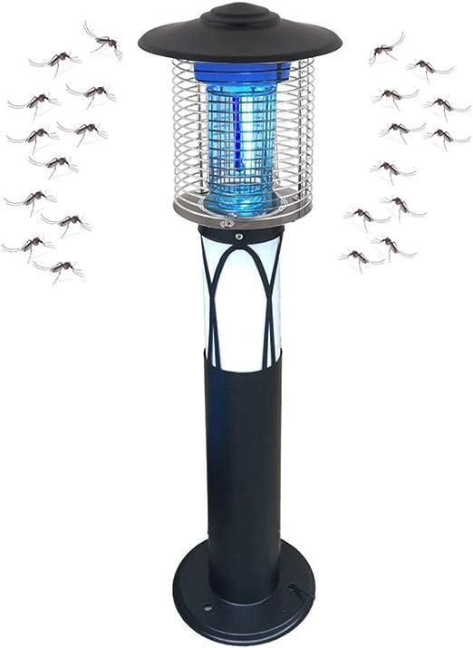 Asesino de Mosquitos de Exterior Lámpara Mosquitos electrico Repelente Mosquito Exterior Bug Zapper Mosquitos Killer Lamp Light para Jardín, Césped, Plantas, Patio: Amazon.es: Hogar