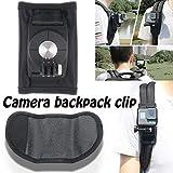 Backpack Clip Shoulder Belt Buckle Chest Fixing Stand for Gopro Hero6/5/4 Sports Camera Quick Release Mount Wrist Holder
