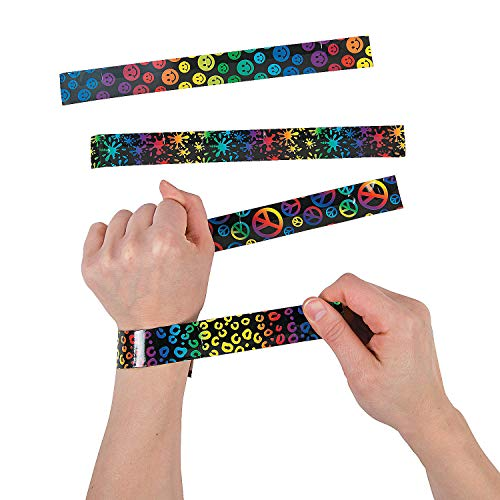 Fun Express Crazy Fun Slap Bracelets | Retro,