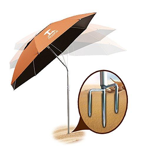 Aoske Portable Sun Shade Umbrella Inclined Heat