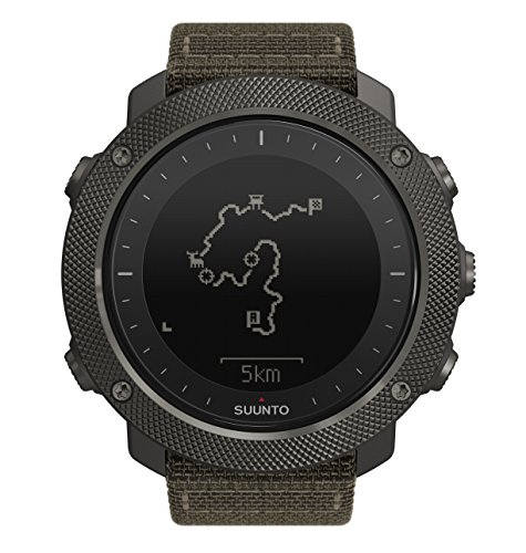 Suunto Traverse Alpha GPS/GLONASS Watch with Versatile Outdoor Functions for Fishing and Hunting and Wearable4U Ultimate Power Pack Bundle (Foliage) by Wearable4u (Image #2)