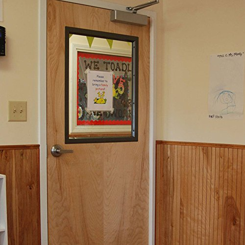 Complete Door Safety Shield Set | Finger Pinch Protector Guards for Door Hinges (96'', Brown) by Fingersafe USA (Image #7)