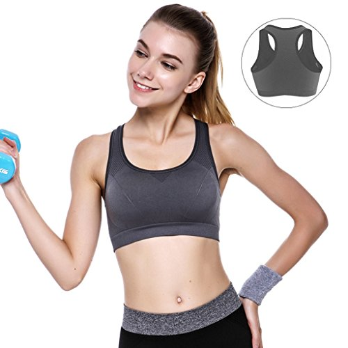 Sports Underwear Shockproof Correr Fitness Vest Mujer Reúna Juntos Sección Yoga Yoga No Trace No Rims Bra ( Color : #5 , Tamaño : 70A )