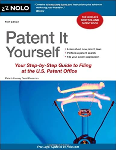 Amazon patent it yourself your step by step guide to filing at amazon patent it yourself your step by step guide to filing at the us patent office 9781413317190 david pressman books solutioingenieria Choice Image