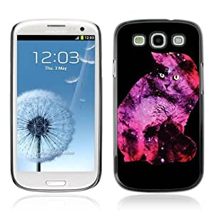 Designer Depo Hard Protection Case for Samsung Galaxy S3 / Galaxy Space Cat