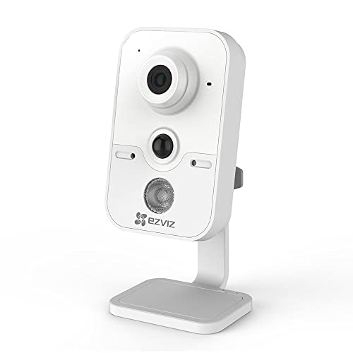 EZVIZ C2Cube 720P HD WLAN IP Cámara de Seguridad 2 4Ghz Wi Fi Vídeo Cámara de Vigilancia Audio Bidireccional Visión Nocturna Monitor de Bebé Mascotas