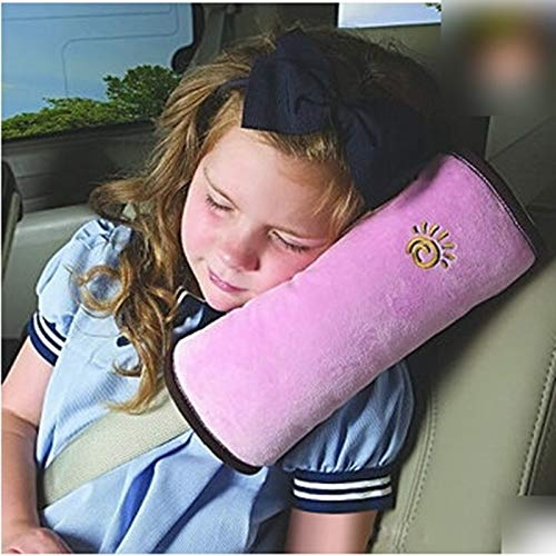 Laz-Tipa - Soft Side Sleeper Pillow Safety Protect Neck Shoulder Pad Seat Belt Cushion for Kids Children Adult Pillow IC878062