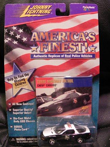 Car Police Caprice - Johnny Lightning America's Finest 1999 Camaro Texas Highway Patrol Police Car MOMC