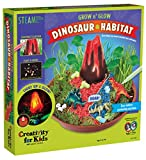 Creativity for Kids Grow N  Glow Dinosaur Habitat - Create Your Own Dino Garden Kit