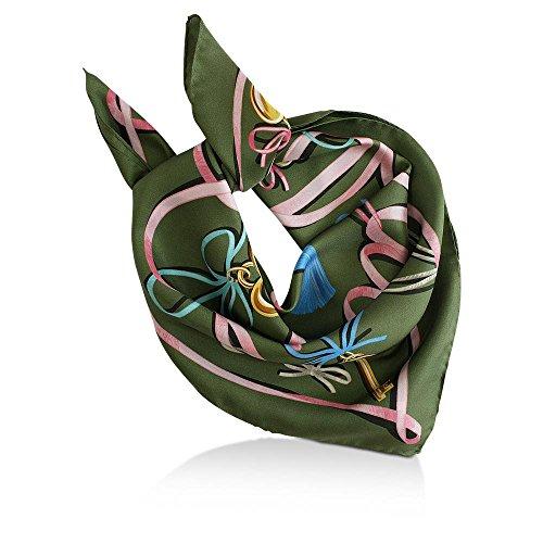 Collo Fazzoletto Unica Moschino rose Taglia Oliv Donna Da qZwx8gF
