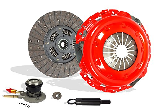 Clutch Kit With Slave Works With Chevy Gmc Sierra Yukon C/K Pickup SL SLE SLT Base Cutaway Van 1996-2000 5.0L V8 GAS OHV 5.7L V8 GAS OHV Naturally Aspirated (Stage 1)