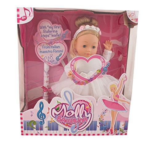 Bambolina Molly Ballerina Doll