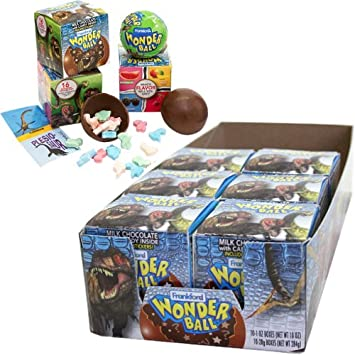 Amazon Com Dinosaur Wonder Ball 10 Count 1 Oz Grocery Gourmet Food