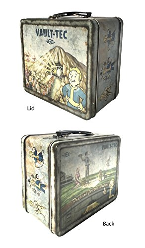 FanWraps Fallout 4 Vault-Tec Weathered Tin Tote Replica