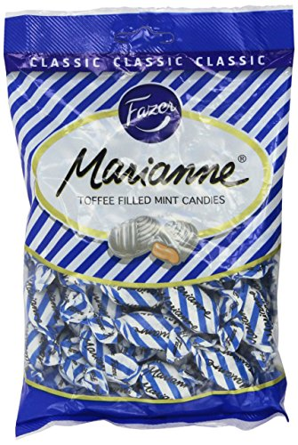 Marianne (Toffee Filled Mint Candies) by Karl Fazer (7.76 ounce)