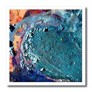 ht_173538_1 Cassie Peters Mixed Media - Abstract Melted Crayons Collage by Angelandspot - Iron on Heat Transfers - 8x8 Iron on Heat Transfer for White Material