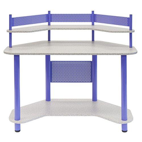 Corner Kitchen Desk Designs: Calico Designs 55121 Study Corner Desk, Purple