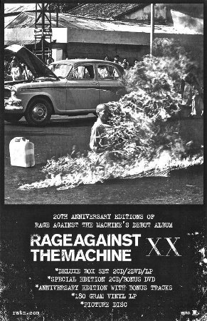 Rage Against The Machine - XX (20th Anniversary Special Edition Poster)